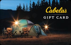 Buy Cabelas Gift Cards or eGifts in bulk