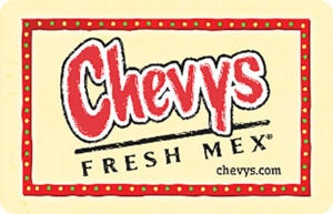 Buy Chevys Gift Cards or eGifts in bulk