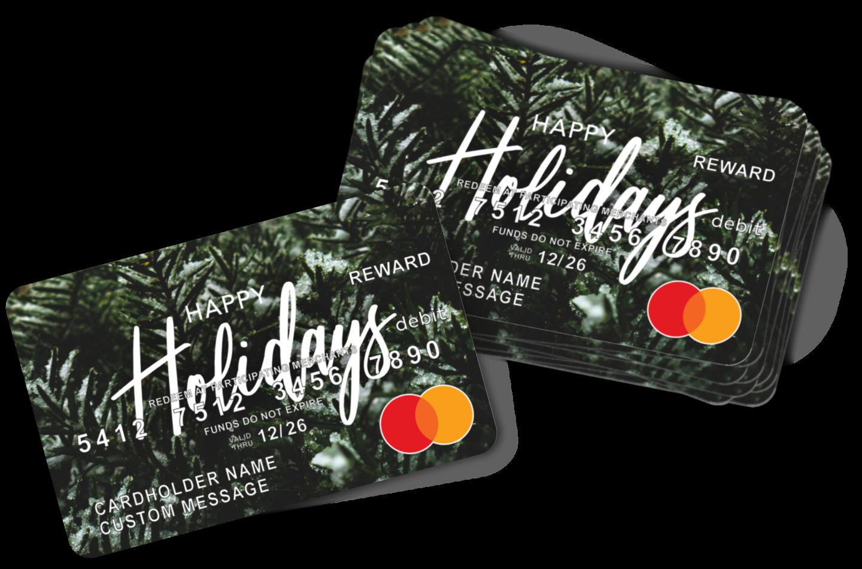 MAX Prepaid Mastercard for Holidays