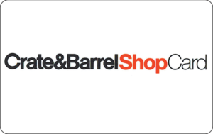 Buy Crate Barrel Gift Cards or eGifts in bulk