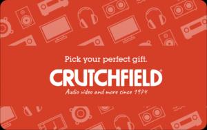 Buy Crutchfield Gift Cards or eGifts in bulk