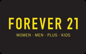 Buy Forever 21 Gift Cards or eGifts in bulk