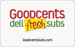 Buy Goodcents Dell Fresh Subs Gift Cards or eGifts in bulk