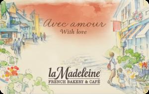 Buy La Madeleine Gift Cards or eGifts in bulk