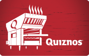 Buy Quiznos Gift Cards or eGifts in bulk