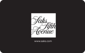 Buy Saks Fifth Avenue Gift Cards or eGifts in bulk