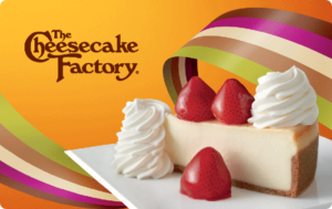 Buy The Cheesecake Factory Gift Cards or eGifts in bulk