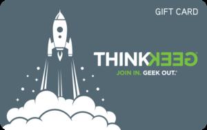 Buy Thinkgeek Gift Cards or eGifts in bulk