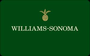 Buy Williams Sonoma Gift Cards or eGifts in bulk