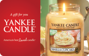 Buy Yankee Candle Gift Cards or eGifts in bulk